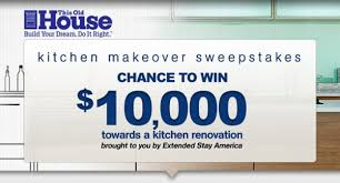Win A Free Kitchen Makeover - the this old house extended stay america kitchen makeover