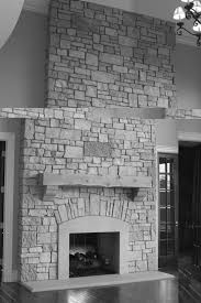 interior wonderful room interior design with gray stone fireplace