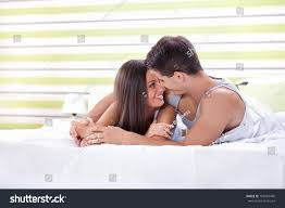 young love couple bed romantic scene stock photo 109587485 young love couple in bed romantic scene in bedroom
