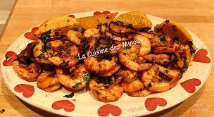cuisine crevette recette de crevettes épicées à la marocaine