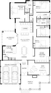 best open one story house planssingle storey floor plans single