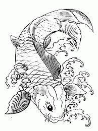 fish coloring pages print to print koi fish coloring page 49 for your coloring print with