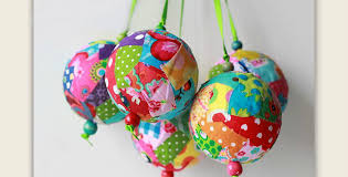 make colorful ornaments from fabric scraps quilting digest