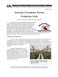 kentucky native plant society kentucky greenhouse tomato production trials tomato greenhouse