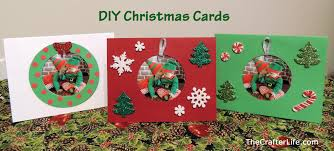 Homemade Christmas Card Ideas by Diy Christmas Cards