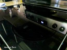 How To Clean A Glass Top Cooktop How To Clean A Glass Cooktop And Get A Streak Free Shine Angela Says