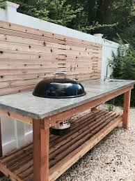 How To Make A Concrete Bench Top Kitchen How To Pour A Simple Concrete Countertop Tos Diy Make
