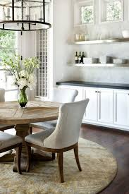 modern kitchen with white cabinets kitchen upholstered dining chairs design feat rustic modern