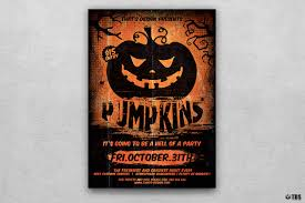 halloween flyer template v4 by thats design store thehungryjpeg com