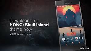 hello kitty themes for xperia c kong skull island xperia theme now available xperia blog