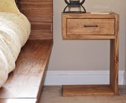 How To Make A Wood End Table by How To Make A Wood Nightstand U2014 New Decoration