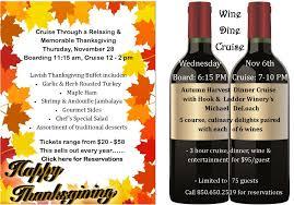 thanksgiving destin florida wine cruise on sunquest cruises make