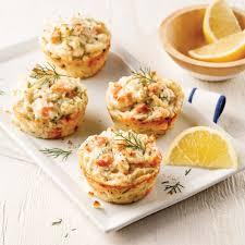 recette cuisine pomme de terre mini pains au saumon et pommes de terre recettes cuisine et