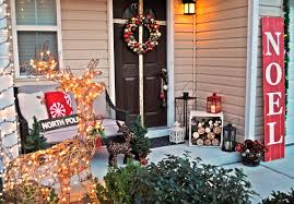 Outside Door Decorations For Christmas by Christmas Double Front Door Decorations U2013 Happy Holidays