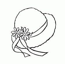 Coloring Hats Antonellocossu Com Coloring Page Of A Hat