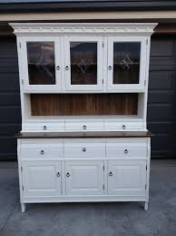 buffet u0026 hutch country style old white chalk paint and oxidised
