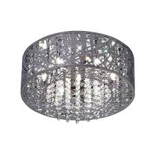 home decorators collection 3 light polished chrome and crystal