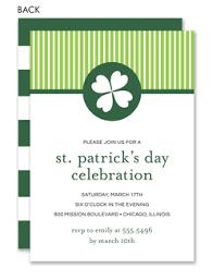st patrick u0027s day invitations st patrick u0027s day party invitations