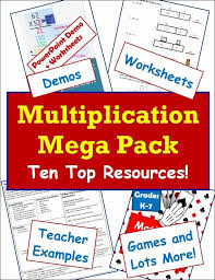 partial product multiplication lesson classroom caboodle