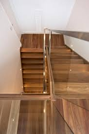 Laminate Flooring For Stairs Bullnose Stairs Staircase Glass Balustrade Timber Stainless Steel