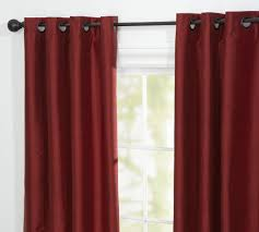Dupioni Silk Drapes Discount Pottery Barn Dupioni Silk Grommet Drapes Decor Look Alikes