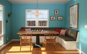 corner dining room furniture how to make banquette bench seating dining dans design magz