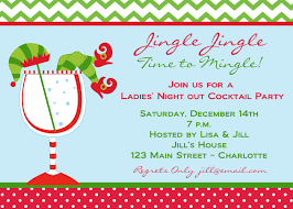 Invitation Card For Christmas Christmas Cocktail Party Invitations Theruntime Com