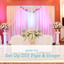wedding backdrop lighting kit how to set up a diy wedding backdrop the budget savvy