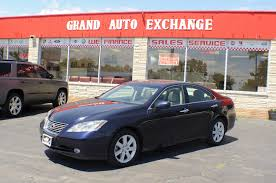 lexus paper sedan 2008 lexus es350 es blue sedan used car sale