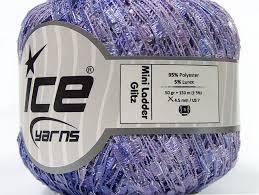 mini ladder glitz lilac shades trellis at yarn paradise