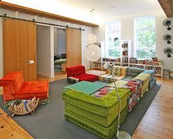 mah jong sofa kids contemporary with white walls scandinavian area