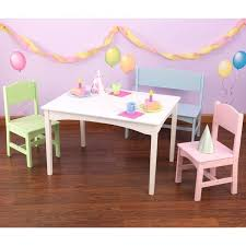 kidkraft round table and 2 chair set kidkraft table and chairs kidkraft nantucket 4 piece table bench and
