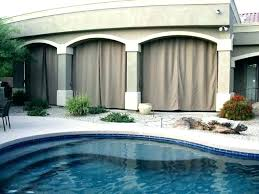 Curtains On Patio Outdoor Porch Curtains Porch Curtain Outdoor Curtains Patio