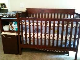 Crib And Changing Table Nursery Decors U0026 Furnitures Grey Crib And Changing Table Combo