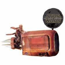 wars balloons delivery large foil wars balloons speeder free delivery