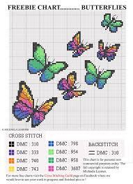 butterfly cross stitch cross stitching robbin