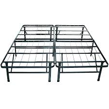 queen size sturdy metal bed frame with headboard and footboard