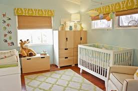 Baby Bedroom Furniture Ikea Baby Nursery Mix Of White And Blonde Wood Here We Go Baby