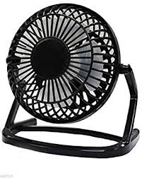 Quiet Desk Fans by Ukayed 5 Inch Silent Desk Fan Mains Or Usb Electric Amazon Co Uk