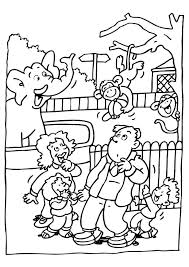 zoo coloring pages preschool zoo coloring pages for preschoolers coloring page visiting the zoo