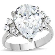 big engagement rings for big rock 7 stones promise ring cubic ziconia