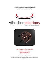 vibration solutions