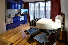 studio apartment accommodation in hobart salamanca wharf hotel