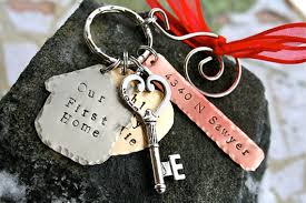 our new home our home forged key to our home