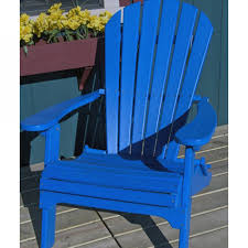 Recycled Adirondack Chairs Shop Garden Treasures Windsor Bay Blue Resin Patio Adirondack