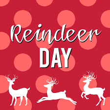reindeer day sunshine and munchkins
