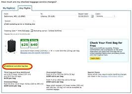 united airlines baggage fee united airlines international baggage weight united airlines