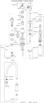 american standard kitchen faucet parts diagram nickel delta kitchen faucet parts diagram deck mount single handle
