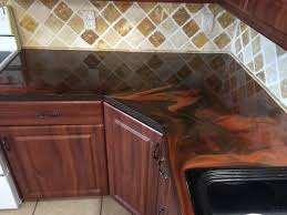 Epoxy Kitchen Countertops by Reflector Enhancer Epoxy Countertops My Work Painting