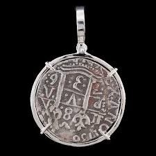 silver coin pendant necklace images Atocha jewelry 8 reale silver coin pendant w sterling silver jpg